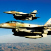 Massiva israeliska flygräder i Syrien
