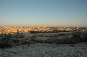Tempelberget i Jerusalem.